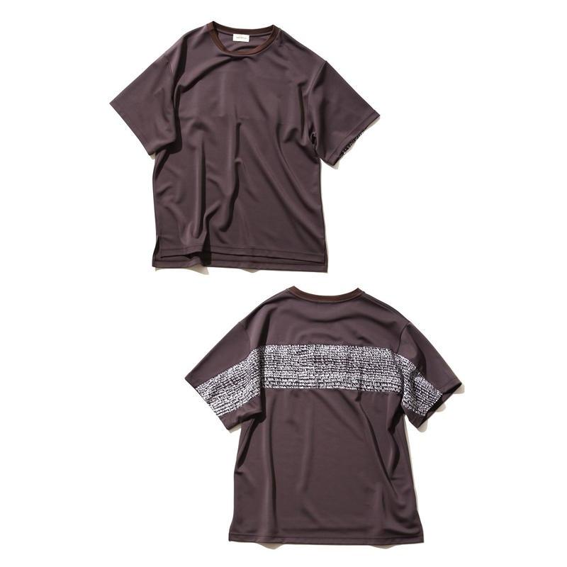FACTOTUM トリアセコットンモクロディ P/O Tシャツ(GRAY)