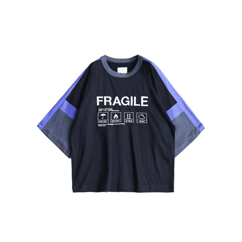 "SHAREEF ""FRAGILE"" SWITCHING BIG-T(Black)"