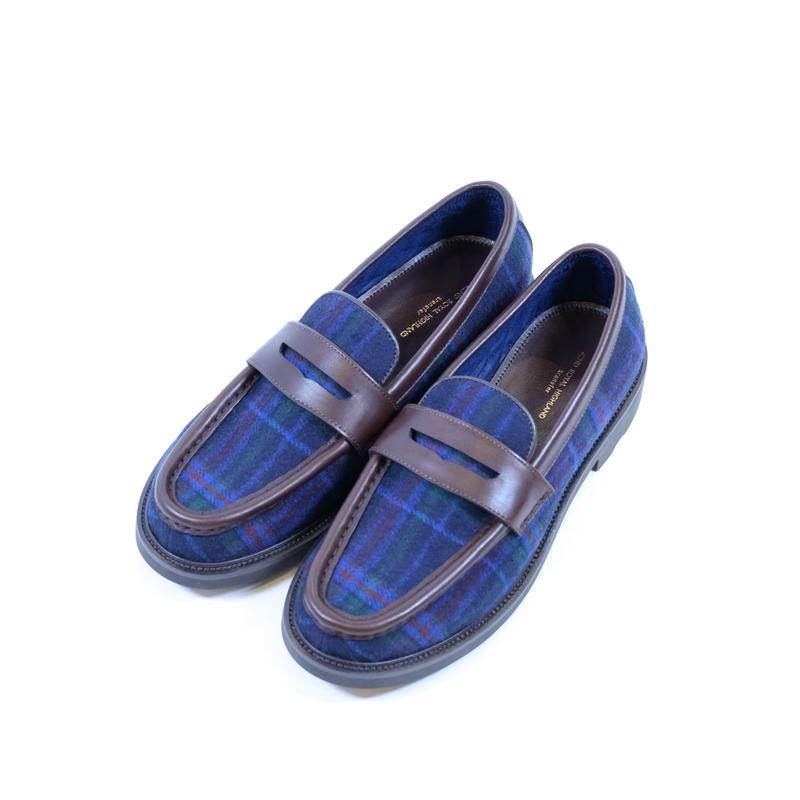42ND ROYAL HIGHLAND ローファー Tartan(BLUE)