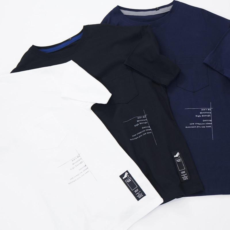MofM(man of moods) オリジナルビッグシルエットTシャツ(WHITE/BLACK/NAVY)
