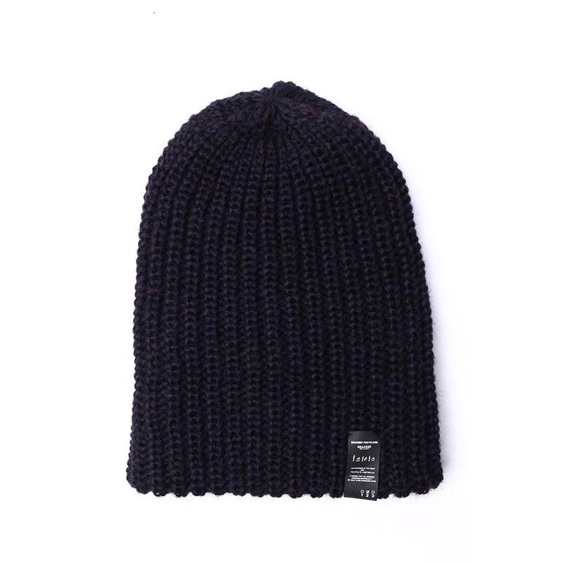 SHAREEF KNIT CAP(Black)