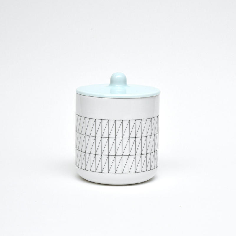 S&B Container For Tea or Coffee / Light Blue