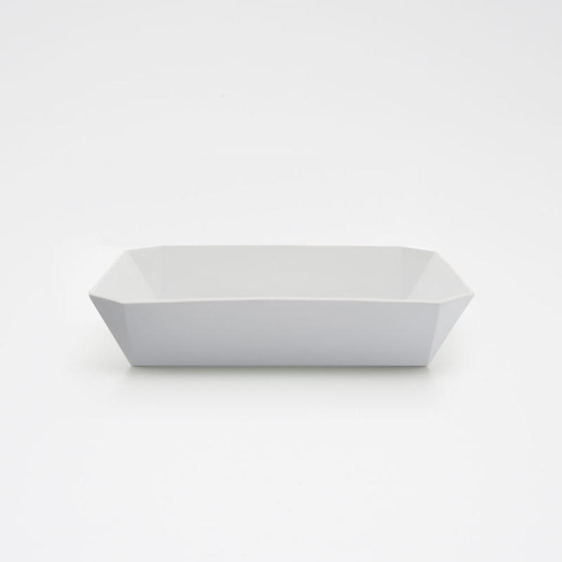1616 / TY Square Bowl 220 / Plain Gray