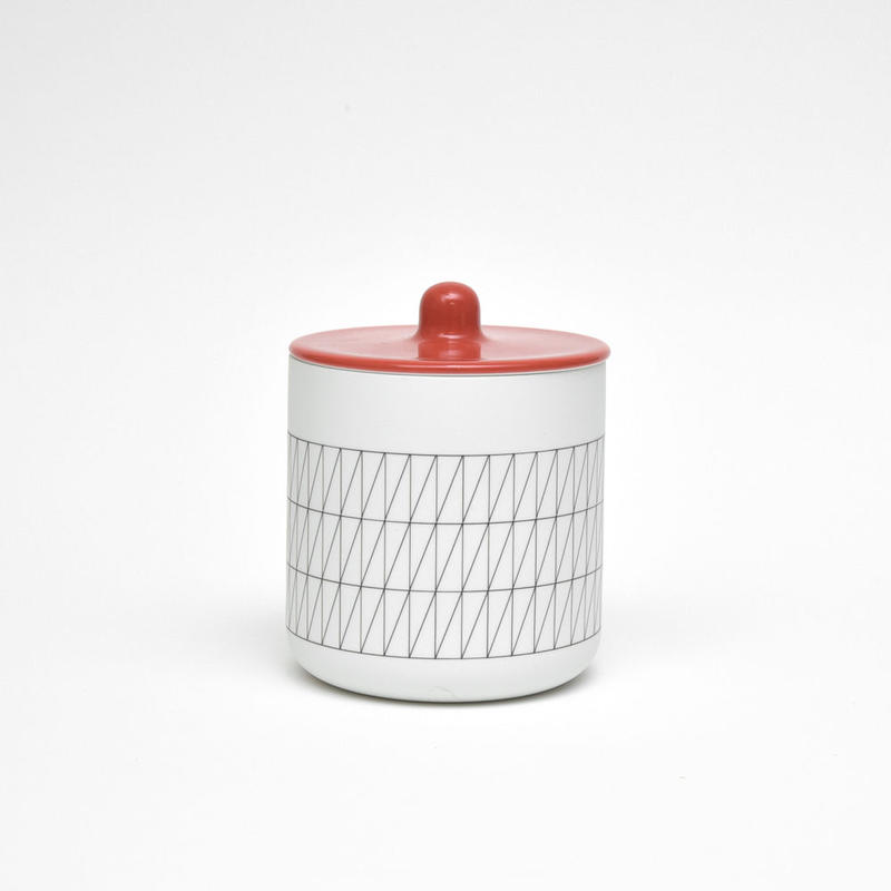 S&B Container For Tea or Coffee / Red
