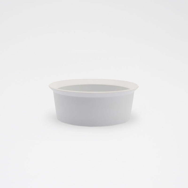 1616 / TY Round Bowl 160 / Plain Gray