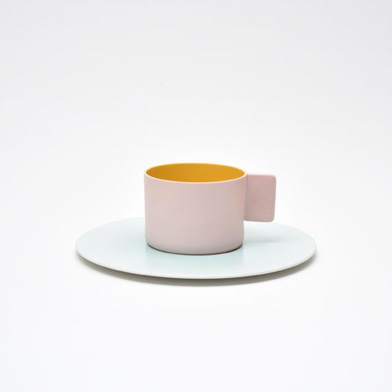 1616 / S&B Coffee Cup & Saucer  / Light Pink