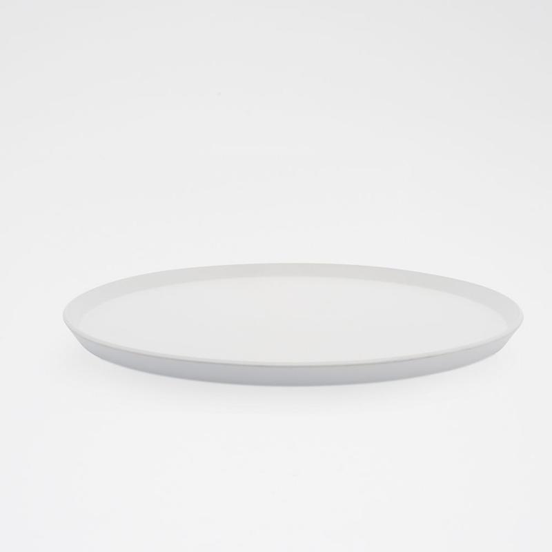1616 / TY Round Plate 280 / Plain Gray