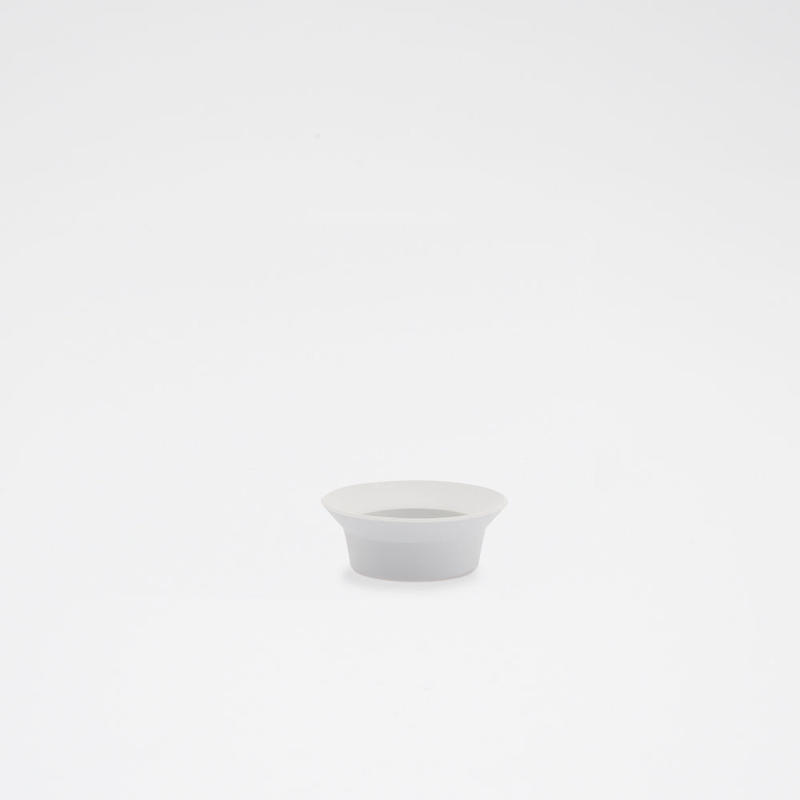 1616 / TY Round Deep Plate 80/ Plain Gray