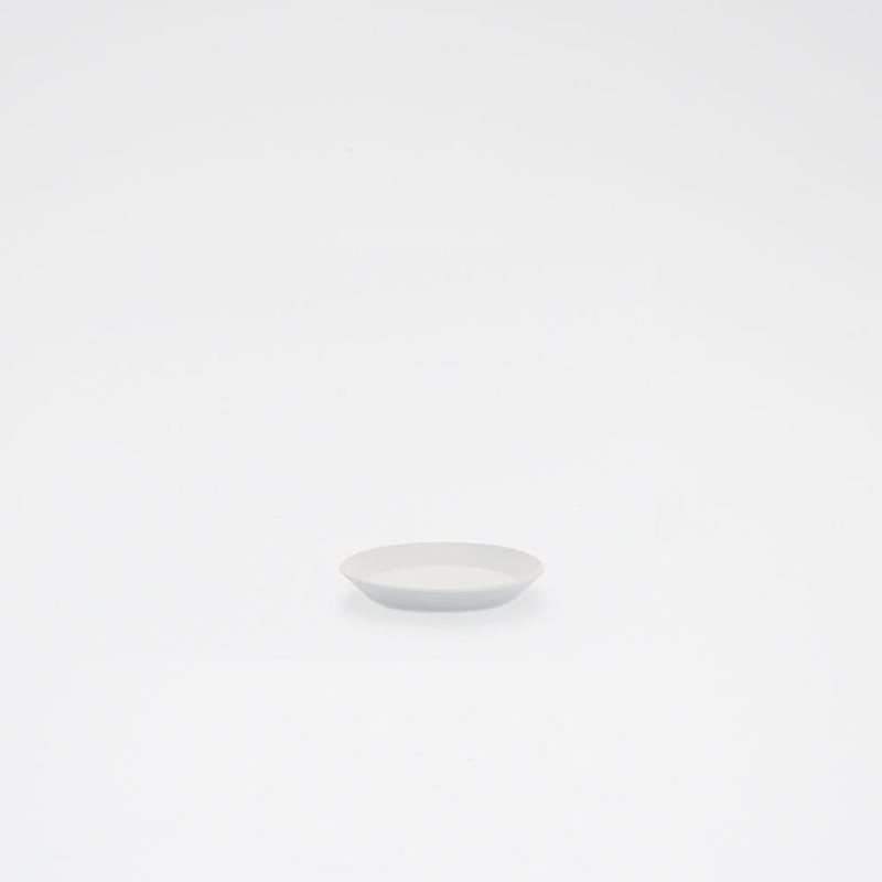 1616 / TY Round Plate 80 / Plain Gray