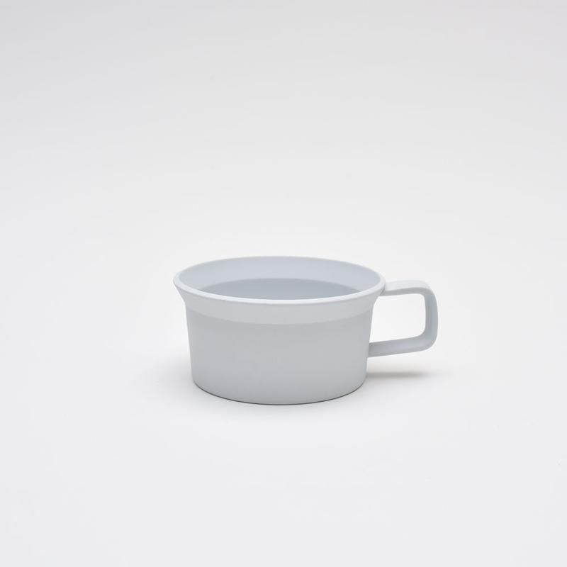 1616 / TY Tea Cup Handle / Plain Gray