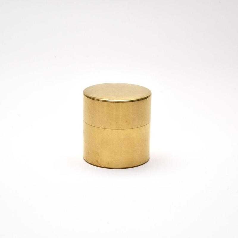 syuro / 丸缶 (小) 真鍮