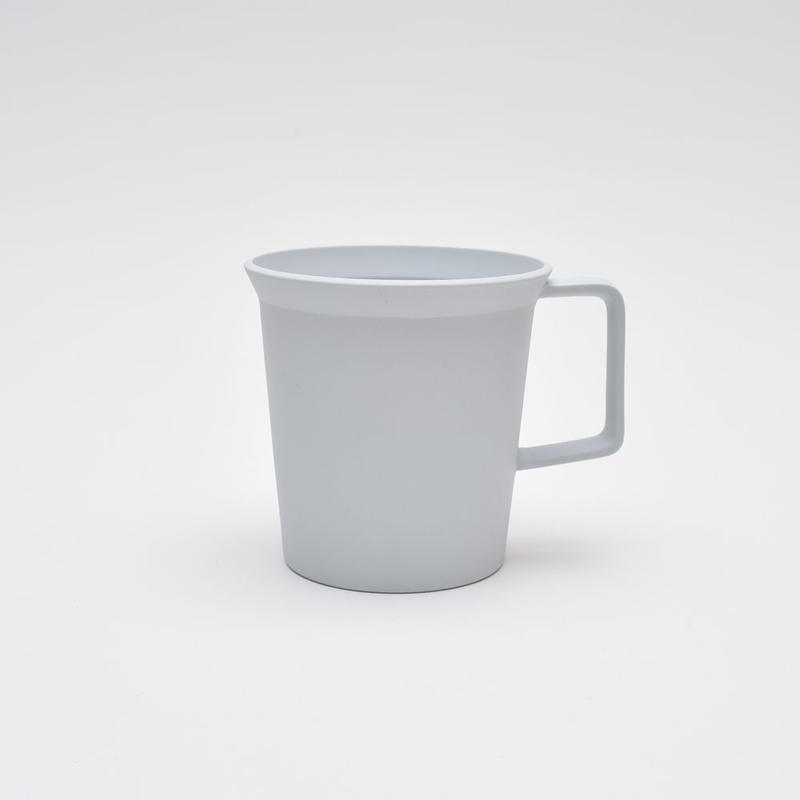 1616 / TY Mug Cup Handle / Plain Gray