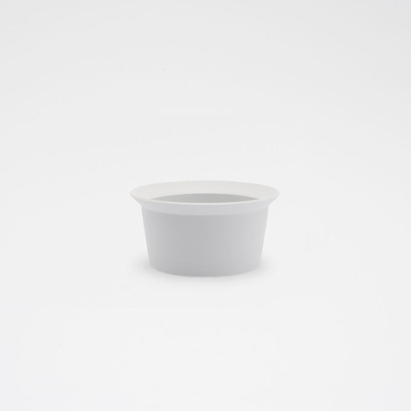 1616 / TY Round Bowl 120 / Plain Gray