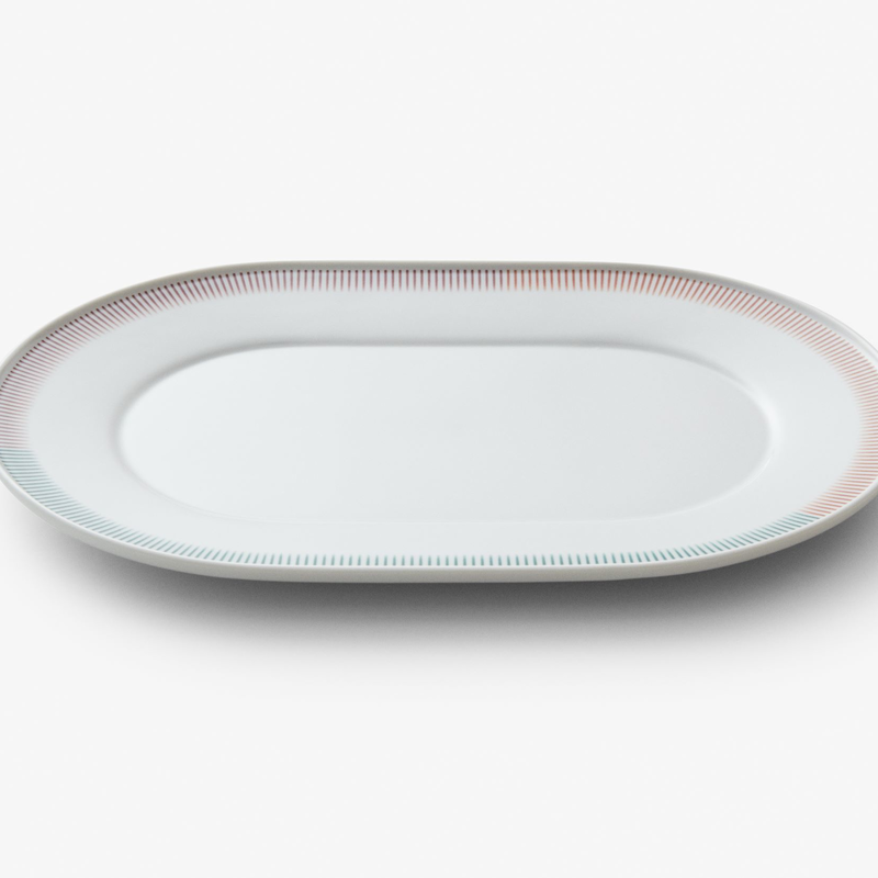 PC Oval Plate 280
