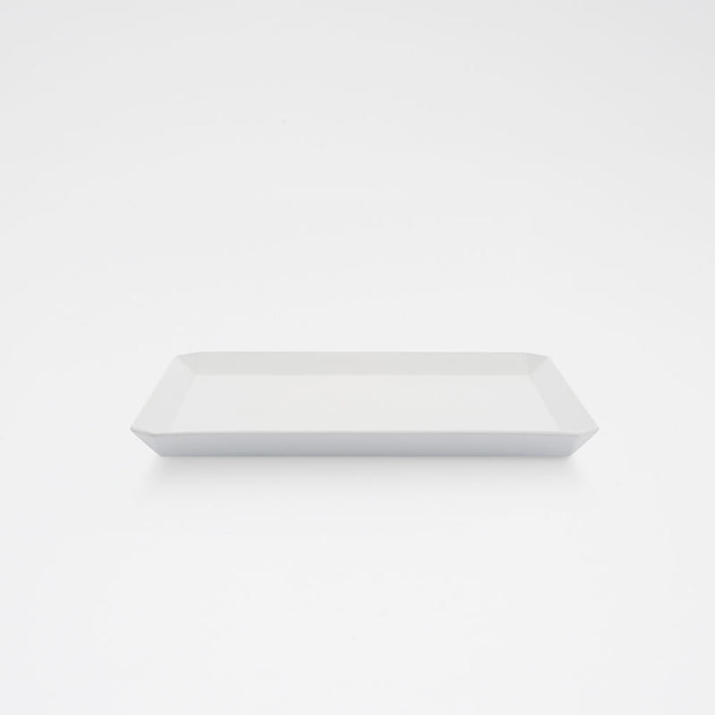 1616 / TY Square Plate 200 / Plain Gray