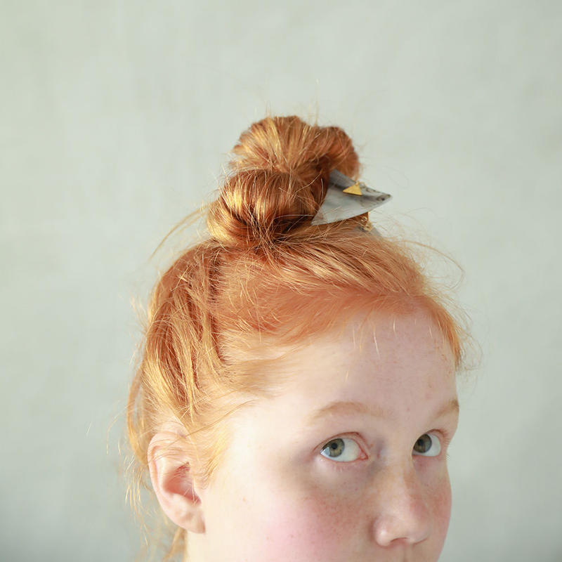Triangle  hair clip   small