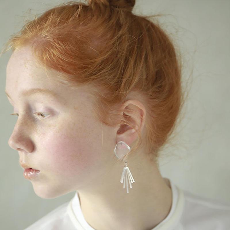 bful earring(No Hole)