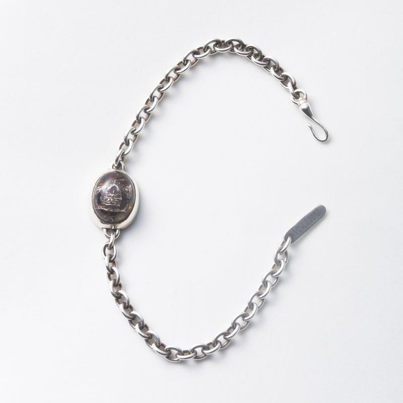 Flower Skull Bracelet (Small)