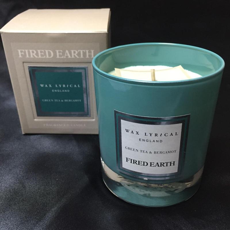 Wax Lyrical Fired Earth Candle Greentea&Bergamot