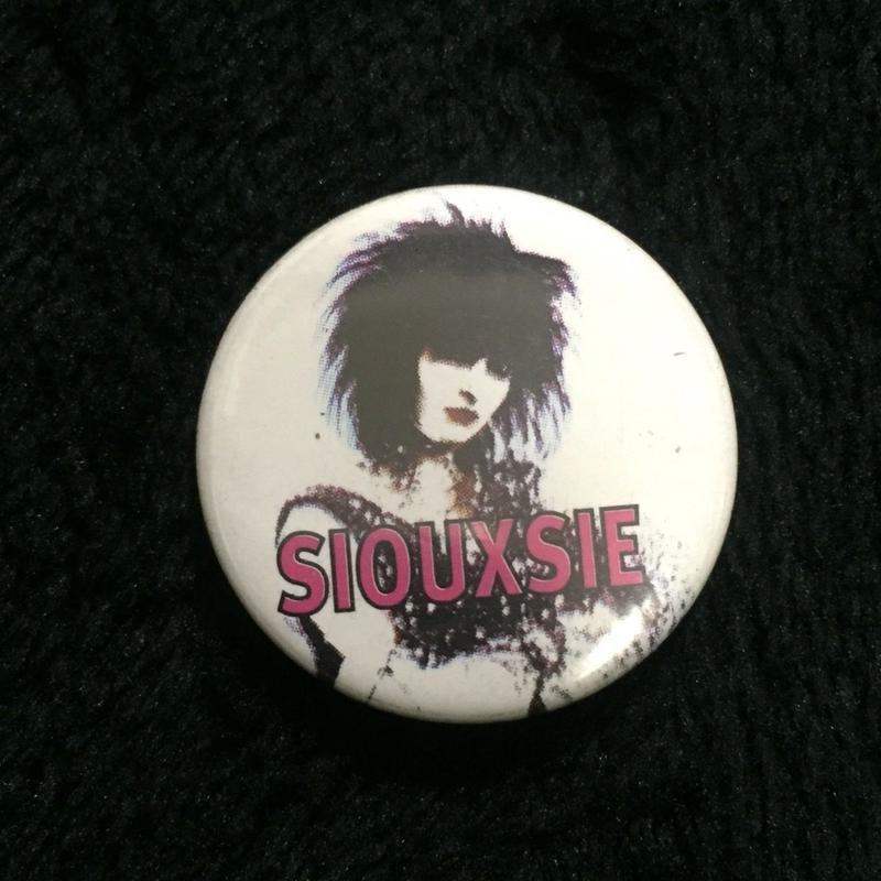 Siouxsie Sioux Button