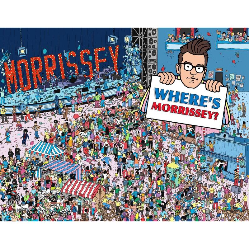 Matthew Lineham/Where's Morrissey?Print+Postcard Set