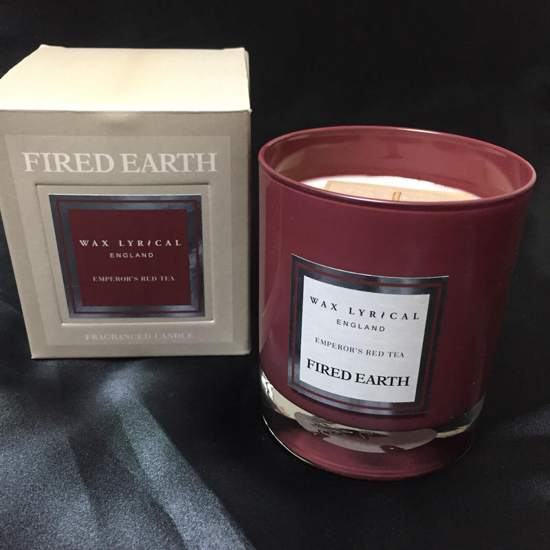 Wax Lyrical Fired Earth Candle Emperor's Red Tea