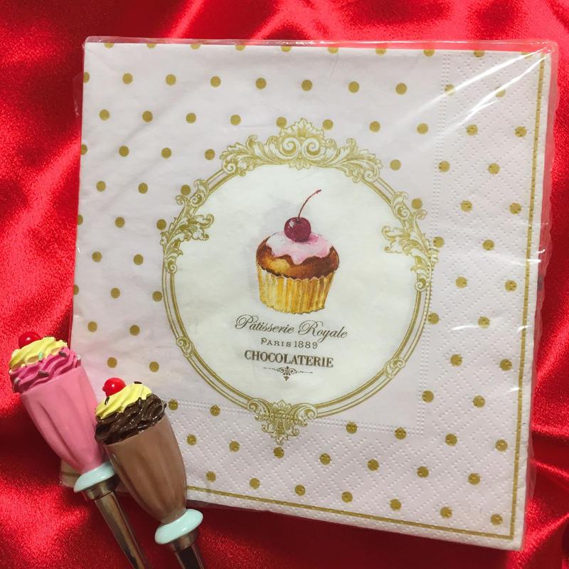 PaperTowel Dots&Cupcakes