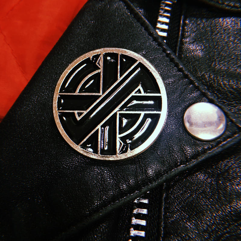 Crass Metal Badge