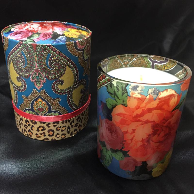 Fringe Studio Candle Paisley&Rose