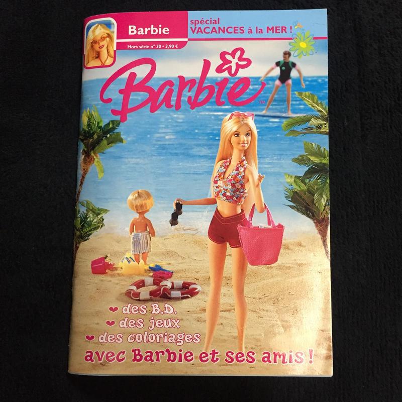Barbie vacances a la mer!