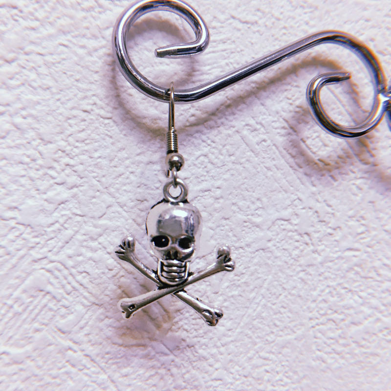 Skull And Crossbones Earring