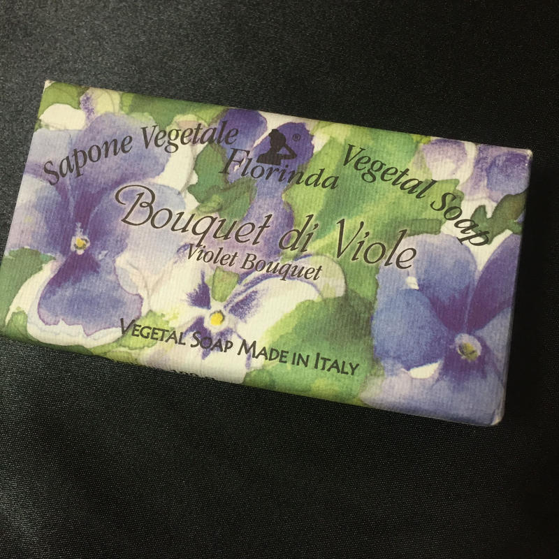 Florinda Soap Violet Bouquet