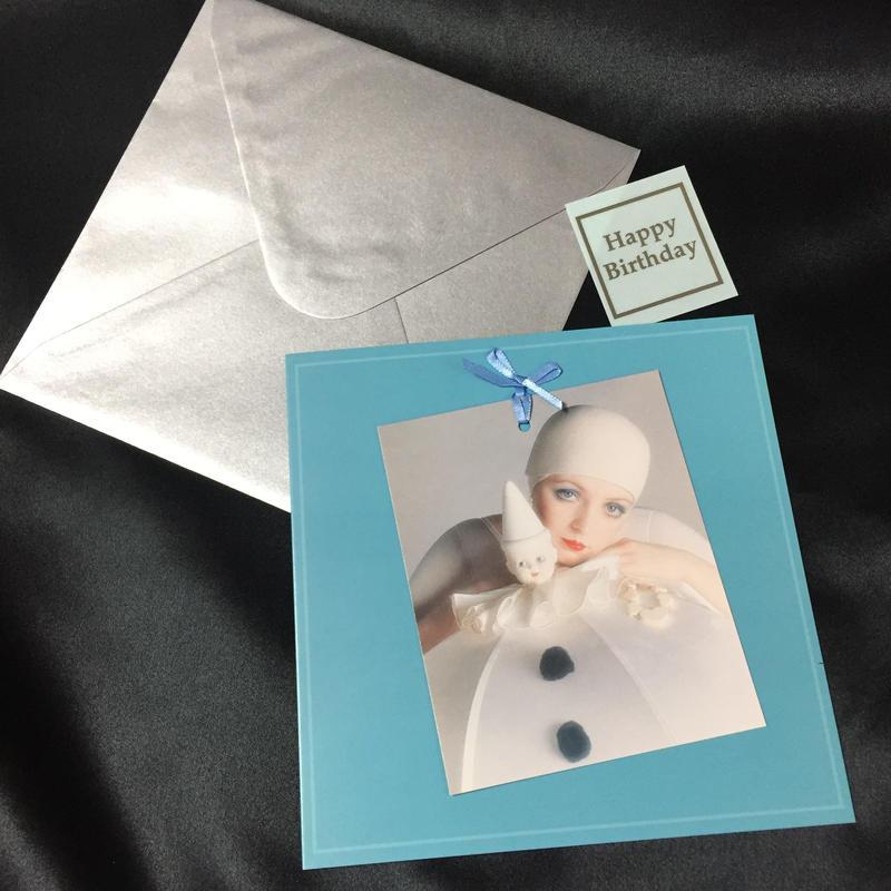 "Vogue Greeting Card ""Dior 1973"""