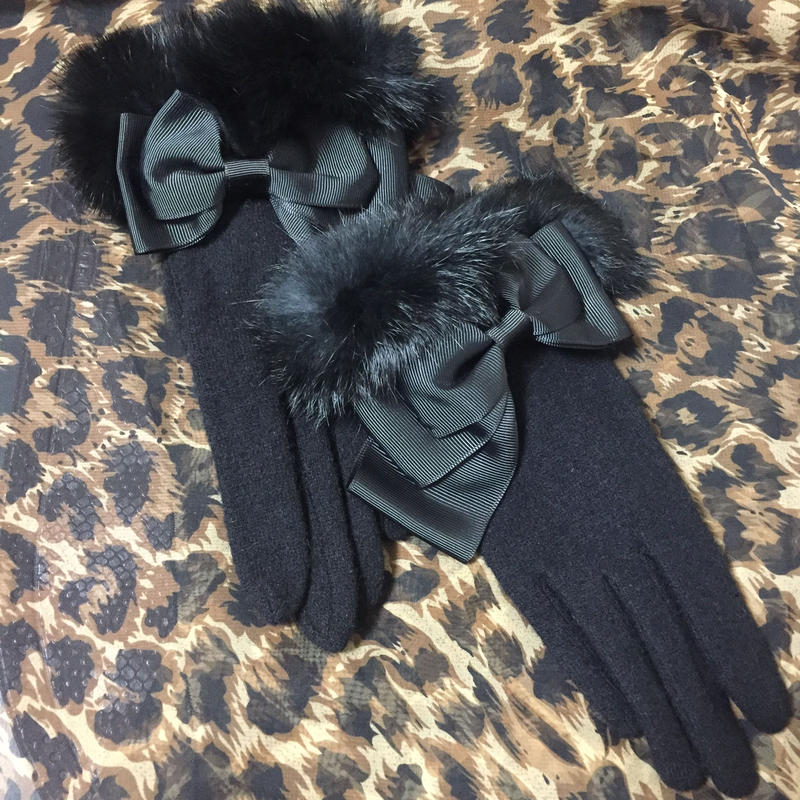 Gloves with Fur