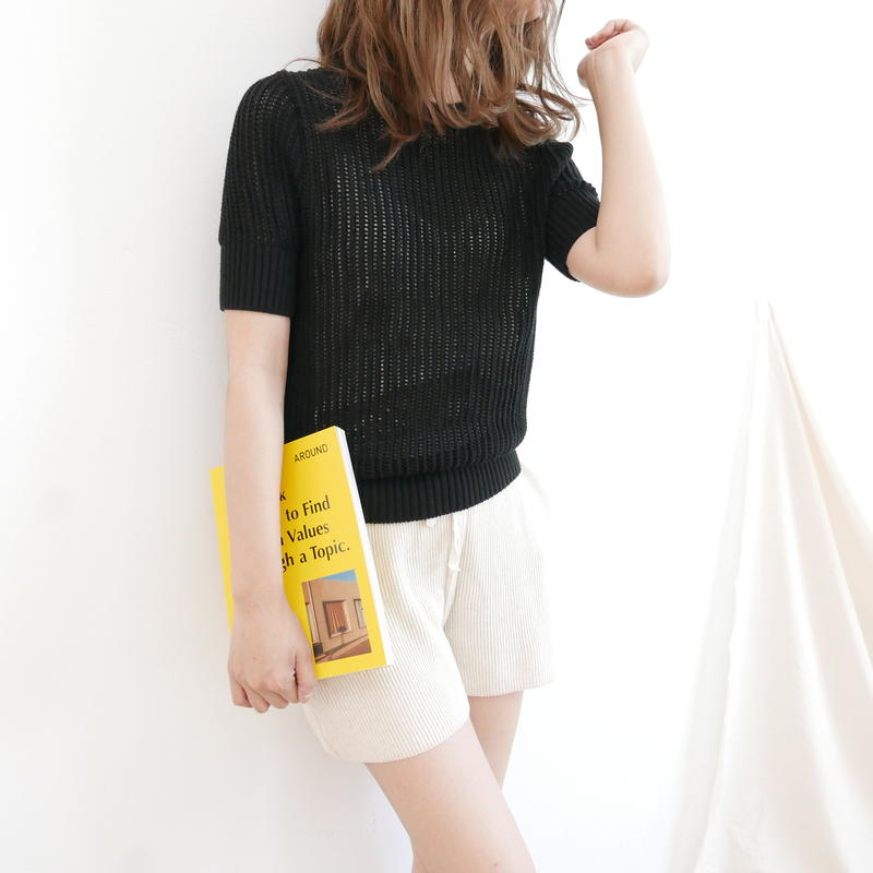 (数量限定)Summer knit tops