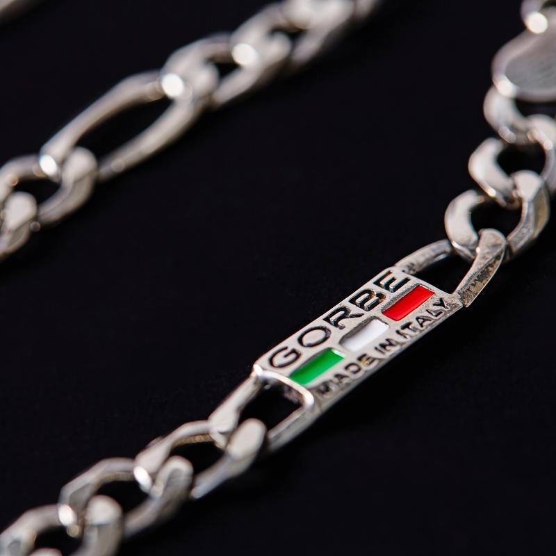 GORBE イタリア製シルバーブレスレット