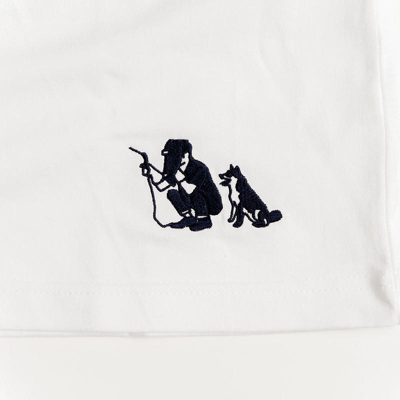 ONOMICHI DENIM 職人刺繍T-SHIRT 鉄工所職人
