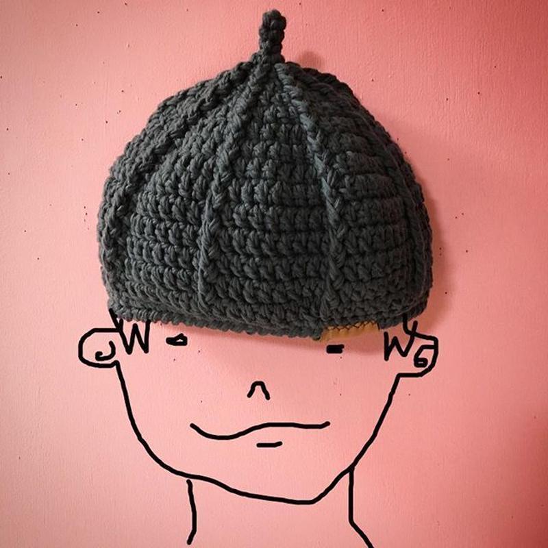 cotton beret《鷹匠》