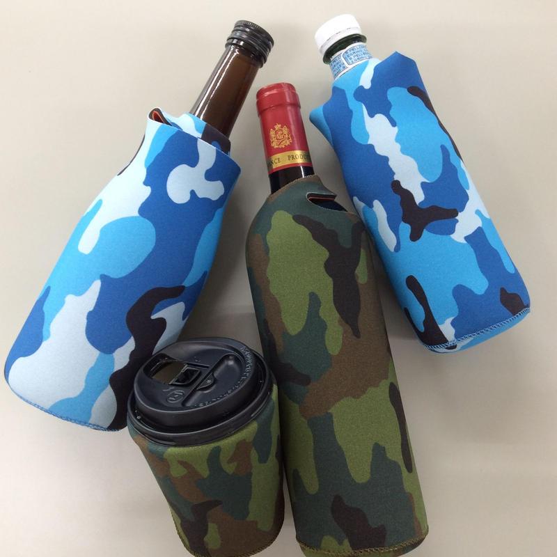 【送料無料】Ooba the multipurpose koozie  :Camo :  ペットボトルカバー缶クージー 缶 ホルダー  保冷缶ホルダー クージー 保冷ドリンククーラー ワインカバー