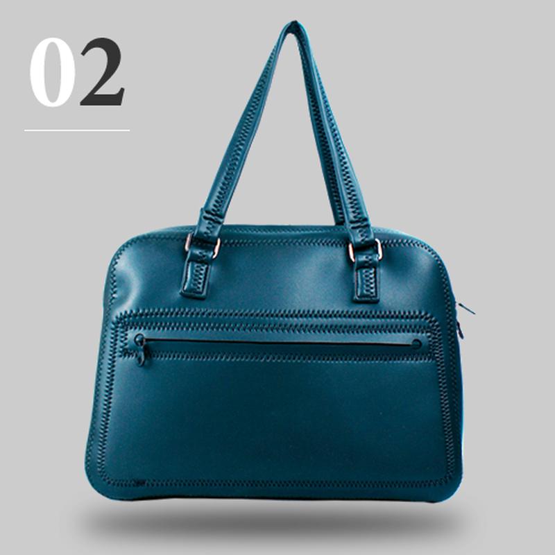 【送料無料】Ooba ブラックスキンバッグ02  Black Skin Bag02 ビジネストート