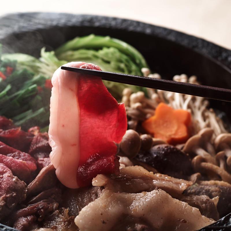上選 冬イノシシ鍋セット(400g)2~3人前