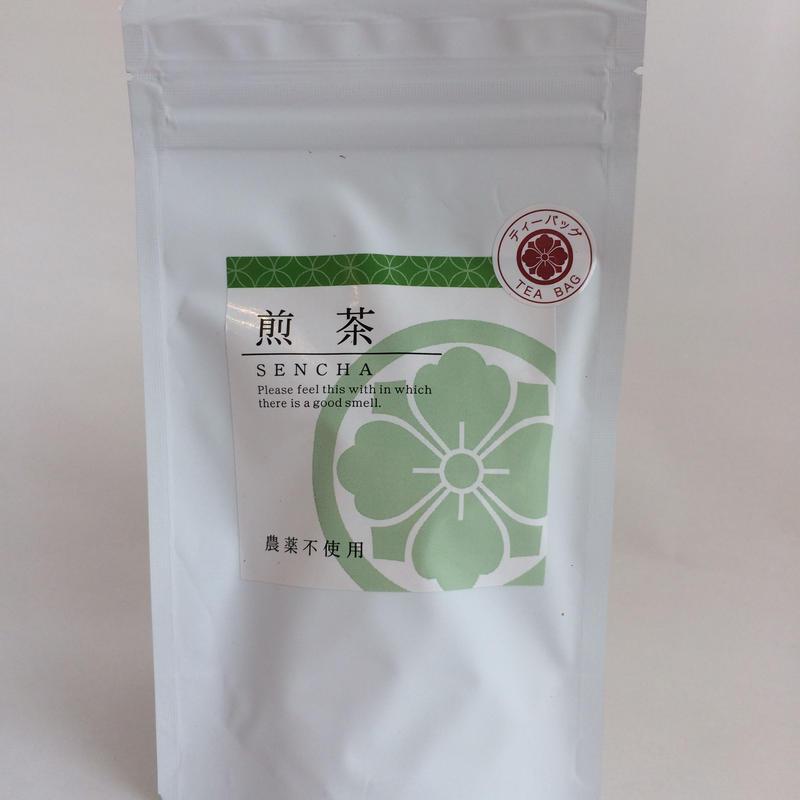 煎茶 農薬不使用 ティーバッグ 2.5gx18個