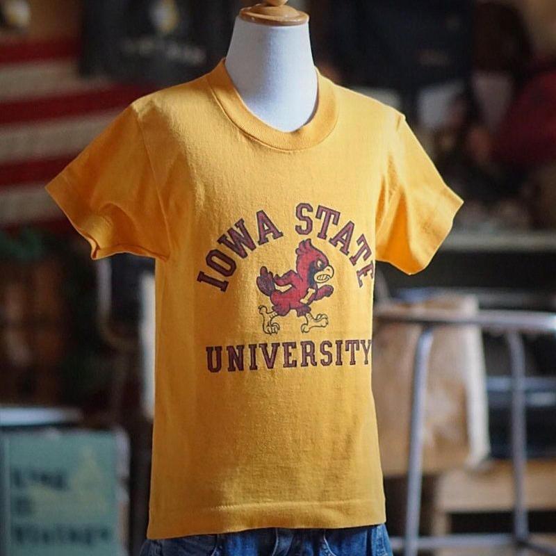 ヴィンテージキッズTシャツ(IOWA)