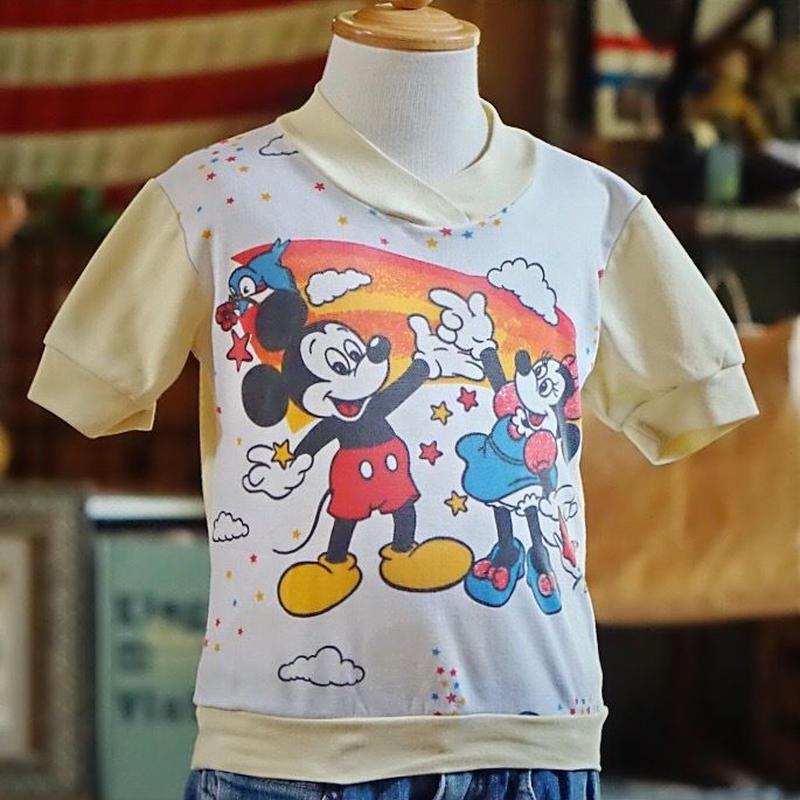ヴィンテージ  ディズニーキッズTシャツ