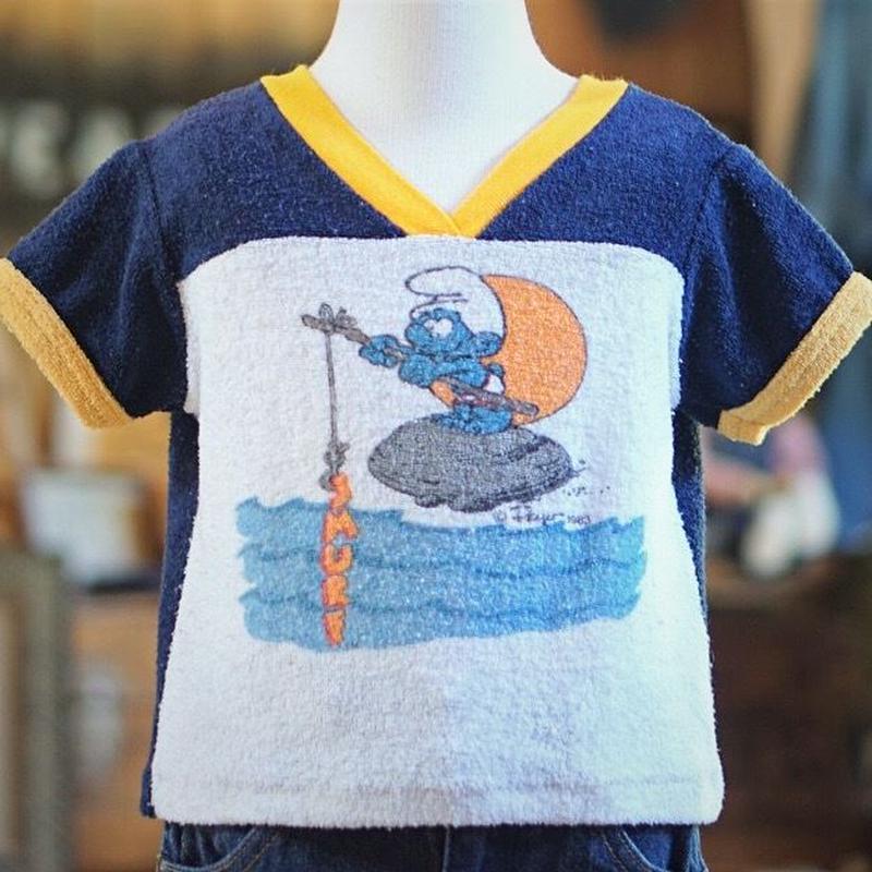 80s ヴィンテージ  スマーフキッズ Tシャツ