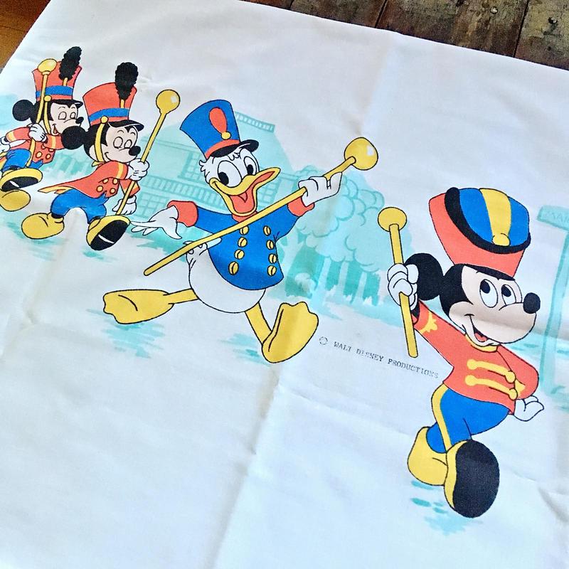 70s〜80s ヴィンテージ  ディズニー 枕カバー