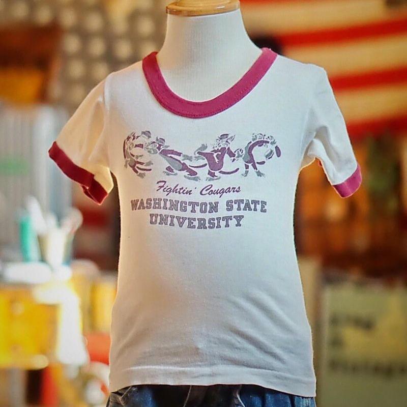 ヴィンテージ キッズ チャンピオン リンガー Tシャツ