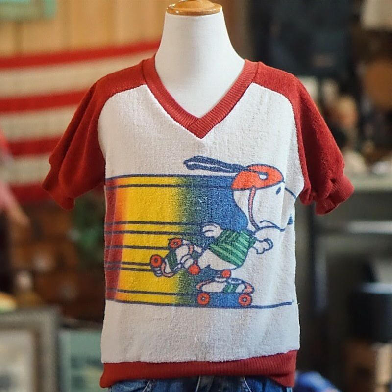 ヴィンテージスヌーピーキッズTシャツ