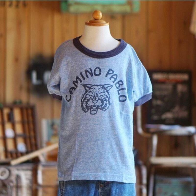 70s ヴィンテージ キッズ リンガー Tシャツ 古着 子供服