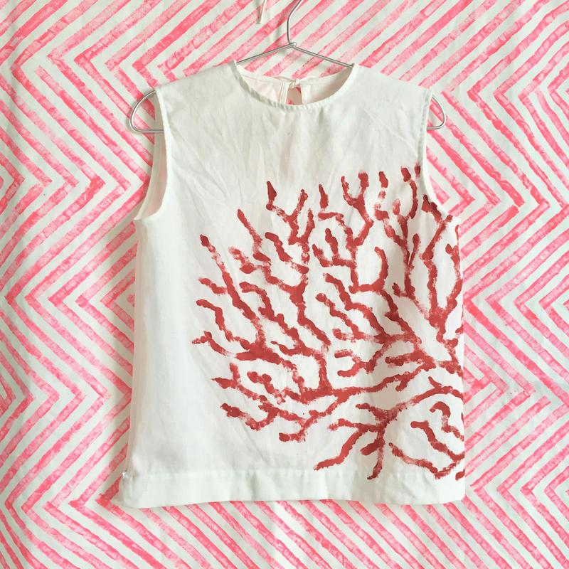 【受注商品】サンゴノースリーブ(coral)